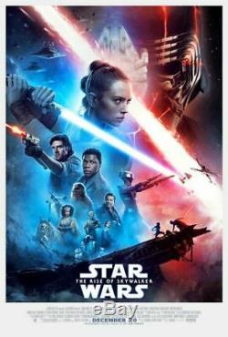 Star Wars The Rise of Skywalker 27x40 D/S & Mandalorian 18x27 posters