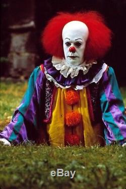 Stephen King It Pennywise Clown Movie Prop Horror Puppet Doll Tim Curry Scary