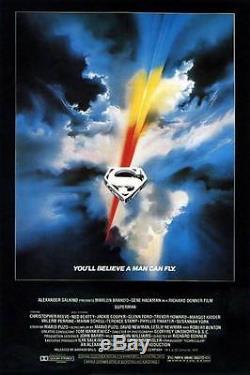 Superman The Movie 1978 Prop Reeve Lex Luthor Rare