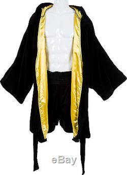 Sylvester Stallone Boxing Robe with Trunks Costume for Rocky Balboa VI COA CREED