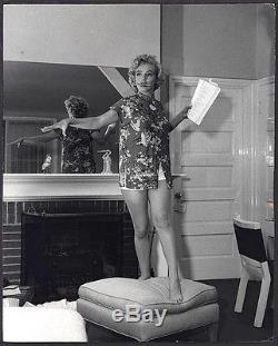 TERRIFIC 1953 Original Photo MARILYN MONROE Rehearsals by ANDRE de DIENES