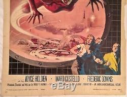 TERROR FROM THE YEAR 5000 Original 1958 theater poster 50s AIP sci-fi horror