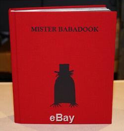 THE BABADOOK Pop-Up Book Prop Replica with Original Box HORROR Mr Babadook OOP