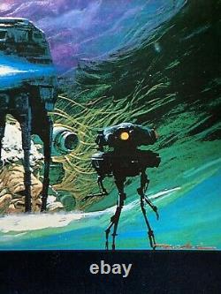 THE EMPIRE STRIKES BACK Original Australian One Sheet 1980 Star Wars Poster