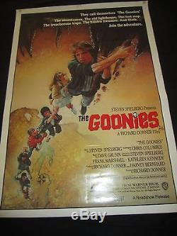 THE GOONIES original ONE SHEET
