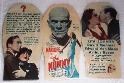 The Mummy Original 1932 Movie Herald Rare