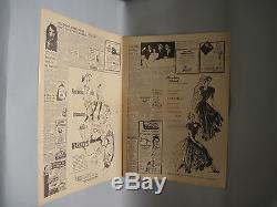 THE ROCKETEER Original BIGELOW'S AIR CIRCUS Screen-Used Prop NEWSPAPER Disney