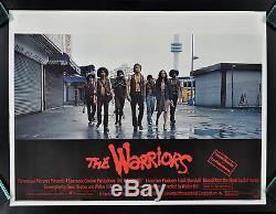 THE WARRIORS CineMasterpieces BRITISH U. K. ORIGINAL MOVIE POSTER 1979 GANG