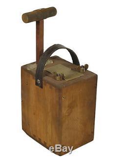 TNT Dynamite Blasting Machine Plunger Box Museum Quality Replica