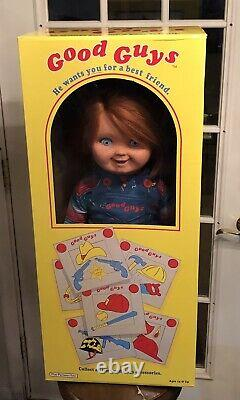 TRICK OR TREAT STUDIOS CHILD'S PLAY/GOOD GUY CHUCKY DOLL/LIFE SIZE/Mint Cond