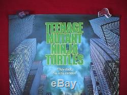 Teenage Mutant Ninja Turtles 1990 Original Movie Poster 1sh Tmnt Halloween Nm