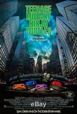 Teenage Mutant Ninja Turtles (1990) Original Movie Poster Rolled