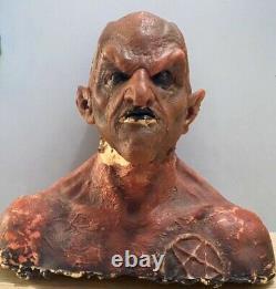 Tenacious D in the Pick of Destiny Satan (Derek Mears) Prop Mask on Bust