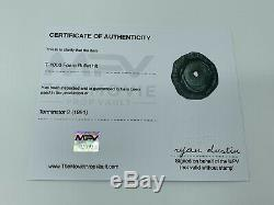 Terminator 2 1991 Screen Used Prop T-1000 Bullet Hit With COA