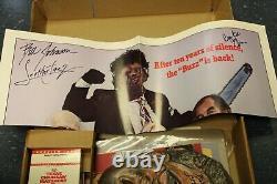 Texas Chainsaw Massacre 2 Video Store VHS Promo Kit Super RARE! JSA Autographs