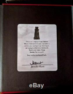 The Babadook Pop-Up Book 1st Edition Signed by Jennifer Kent with original box