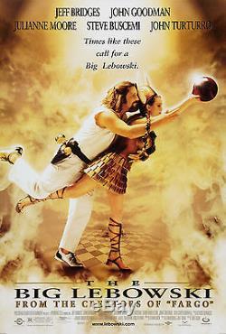 The Big Lebowski (1997) Original Movie Poster Rolled