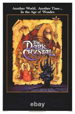 The Dark Crystal (1982) Movie Poster, Original, SS, Near Mint, Unused, Rolled