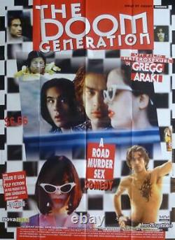 The Doom Generation Gregg Araki / Cult Original Large French Movie Poster
