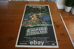 The Empire Strikes Back 1980 Sci-fi Aust Orig Daybill Movie Poster In Vgood Cond