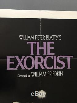 The Exorcist (1974) Original One Sheet Movie Poster & Lobby Cards Lot (8) Horror