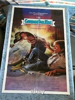 The Garbage Pail Kids Movie 1987 Original 1 Sheet Movie Poster 27 x 41 F/VF