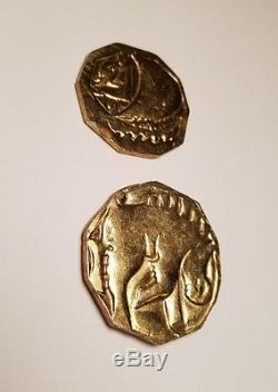 The Hobbit prop screen used treasure coins weta workshop