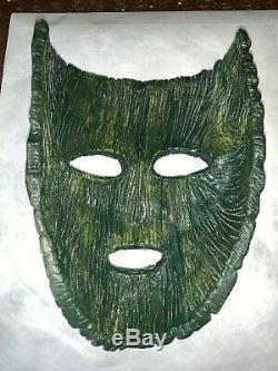 The Mask Original Prop Mask and Signed Jim Carrey lobby card