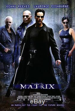 The Matrix (1999) Original Movie Poster Rolled