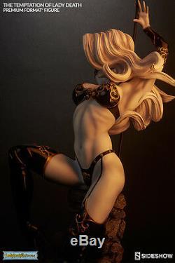 The Temptation of Lady Death Horror 1/4 Premium Format Statue Sideshow
