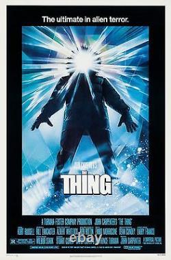 The Thing (1982) Original Movie Poster Rolled Drew Struzan Artwork