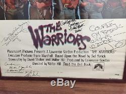 The Warriors 1979 Original 1 Sheet Movie Poster. Signed