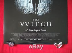 The Witch 2016 Original Movie Poster D/s Anya Taylor-joy The Vvitch Halloween