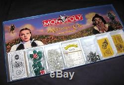 The Wizard of Oz MONOPOLY autographed 18 cast members classic board game RARE