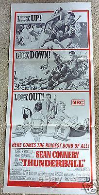 Thunderball Sean Connery James Bond 007 Original Movie Poster