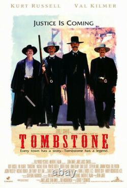Tombstone (1993) Movie Poster, Original, DS, Unused, Near Mint, Folded