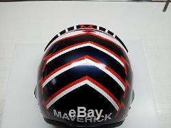 Top Gun Maverick Flight Helmet Movie Prop Fighter Pilot Naval Aviator Usn Navy