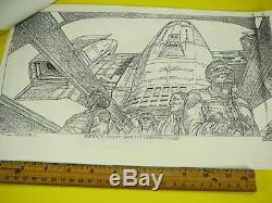 Total Recall 1990 Arnold Schwarzenegger Concept Sheets Rare Vintage Original