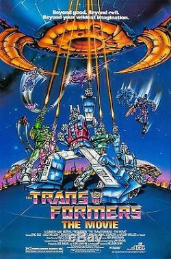 Transformers The Movie (1986) Animated Feature Original Rolled Movie Poster