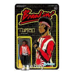 Turbo Breakin 1984 Movie Breakdance Retro 3 3/4 Inch ReAction Figur Super7