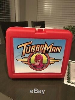 Turbo Man Lunchbox Jingle All The Way Screen Used Prop