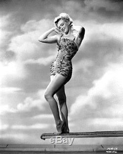 UNIQUE 1950 ORIGINAL Photo NEGATIVE MARILYN MONROE in SWIMSUIT Frank Powolny