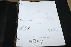 Uncut Gems Hand Signed Autograph Screenplay Script Fyc For Your Josh Sadie