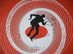 Vertigo 1958 Original Movie Poster 1sh Ds 1996r 70mm Dts Alfred Hitchcock Nm-m