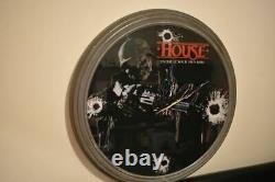 Vintage 1986 HOUSE Horror Display VHS Movie pic BIG BEN Wall Clock 30 Standee