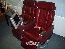 Vintage First Class Airline Seats