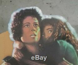 Vintage RARE 1986 ALIENS RIPLEY NEWT Cardboard Lobby Standee SIGOURNEY CAMERON