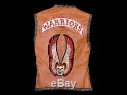 WARRIORS VEST screen used prop hero wardrobe by Cochise