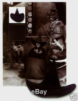 WIZARD OF OZ WICKED WITCH Signed Costume Movie Prop COA photo Memorabilia relic