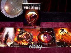 WOW, War of the Worlds Alien PROP, Signed TOM CRUISE Autograph, DVD, COA, Script